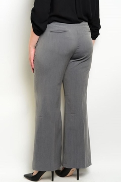 HAVE Charcoal Wide-Leg Pants - Alternate List Image