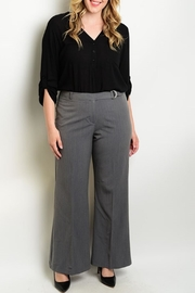 HAVE Charcoal Wide-Leg Pants - Product Mini Image