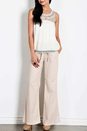 HAVE Drawstring Linen Pants - Product Mini Image