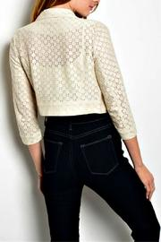 HAVE Ivory Cropped Jacket - Front full body