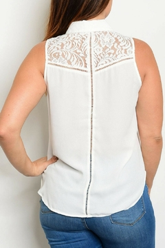 HAVE Ivory Woven Top - Alternate List Image