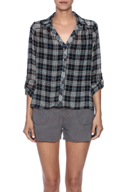 Shoptiques Product: Sheer Flannel - Side cropped