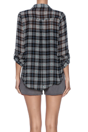 Shoptiques Product: Sheer Flannel - Back cropped