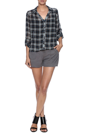 Shoptiques Product: Sheer Flannel - Front full body