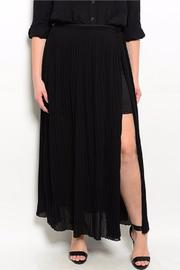 Have Plus Black Plus Skirt - Front cropped