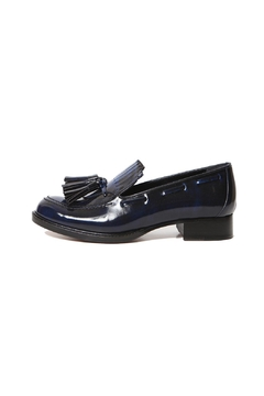 HAVVA Leather Fringe Loafers - Product List Image