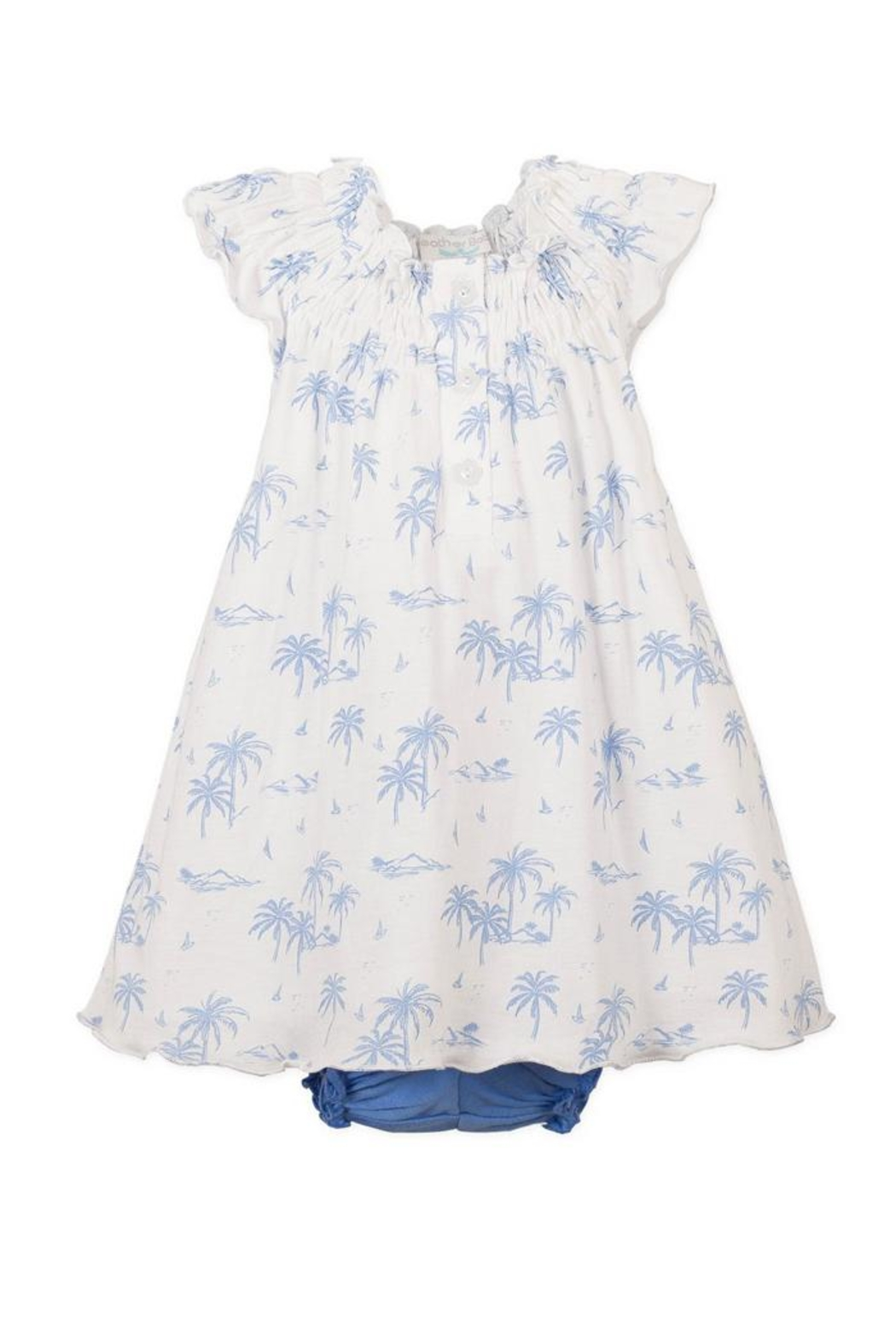 Feather Baby Hawaii Henley-Bloomer Dress - Main Image