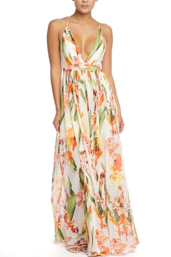 d5bb84cef53 Luxxel Hawaiian Floral Maxi From Los Angeles By Chikas Shoptiques ...