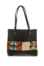 Hawks and Doves Black Porter Tote - Front cropped