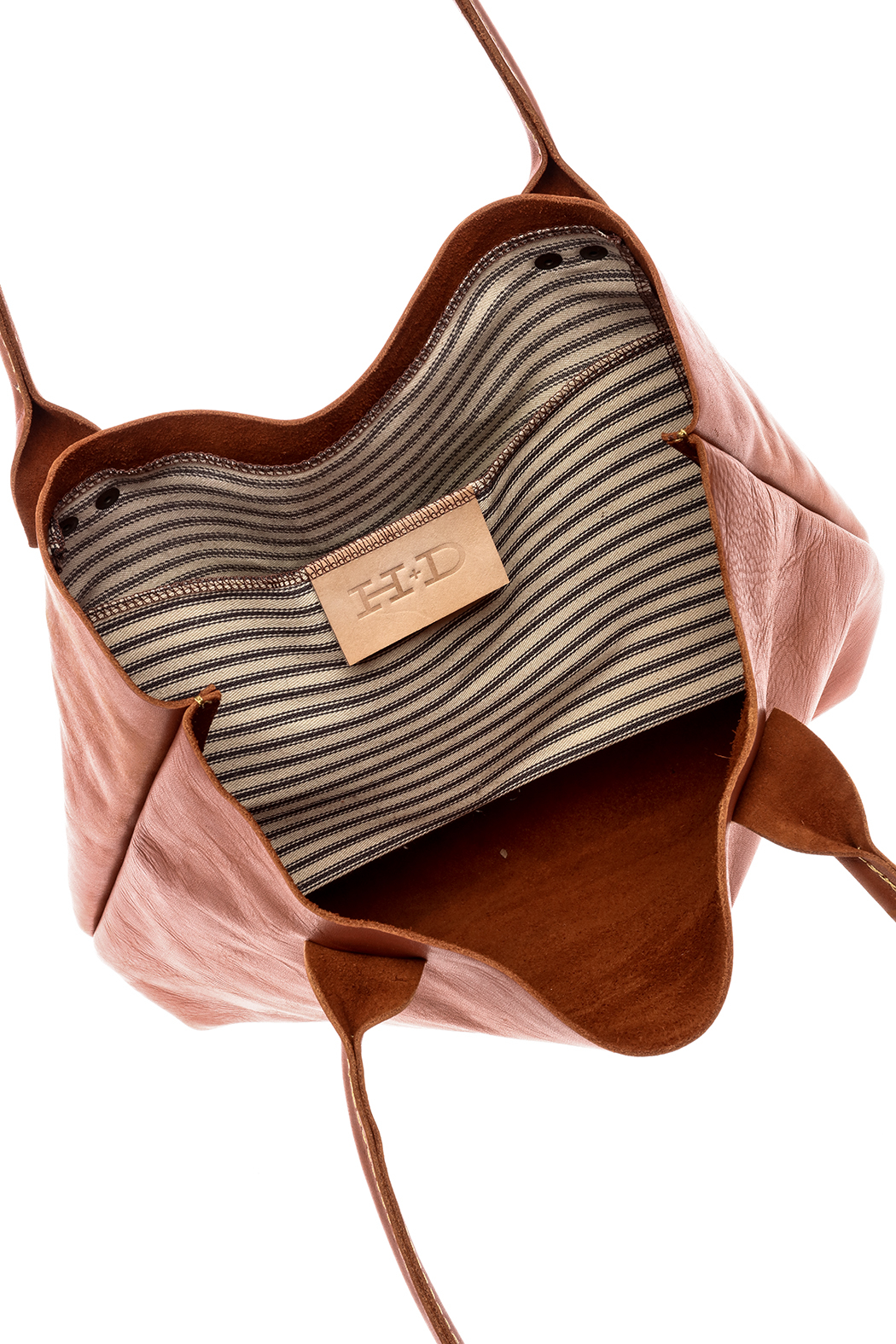 Hawks and Doves Tan Porter Tote - Front Full Image