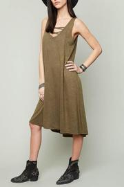 Hayden Army Tank Dress - Front cropped