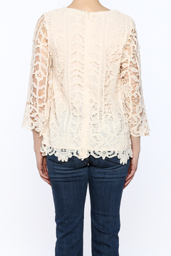 Hayden Ivory Crochet Top - Alternate List Image