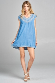 Racine Hayden Denim Dress - Product Mini Image