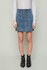 Hayden Iconic Denim Skirt - Product Mini Image