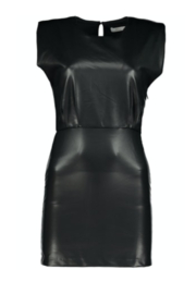 Bishop + Young Hayden Faux Leather Dress - Product Mini Image