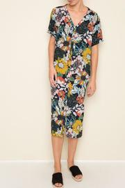 Hayden Floral Midi Dress - Front cropped