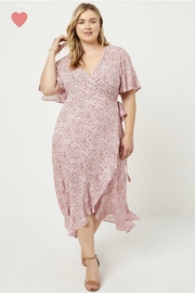 Hayden Floral Wrap Dress - Product Mini Image