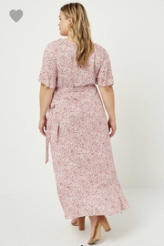 Hayden Floral Wrap Dress - Back cropped