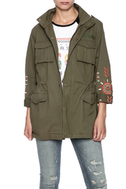 Hayden Oversized Military Jacket - Product Mini Image