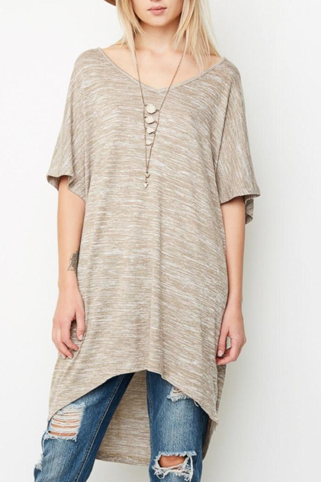 Hayden Cozy Tunic Top - Front Cropped Image