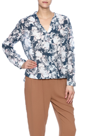Hayden Los Angeles Floral Envelope Blouse - Product Mini Image