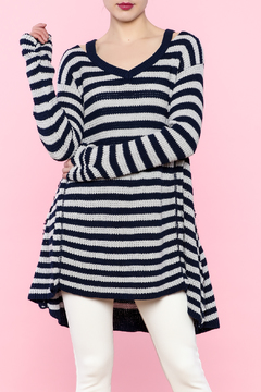 Shoptiques Product: Navy Stripe Sweater
