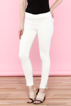 Shoptiques Product: White Cropped Skinny