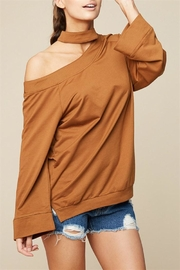 Hayden One Shoulder Top - Product Mini Image