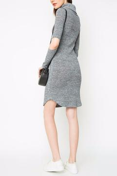 Shoptiques Product: Open Elbow Sweater Dress