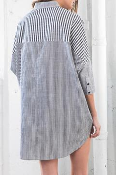 Shoptiques Product: Oversized Button-Up Top