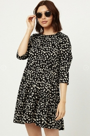 Hayden Polkadot Babydoll Dress - Product Mini Image