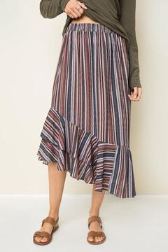 Hayden Retro Striped Skirt - Alternate List Image