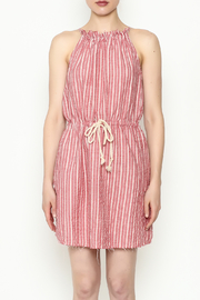 Hayden Striped Halter Dress - Front full body