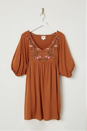 Hayden Los Angeles Babydoll Embroidered Dress - Product Mini Image