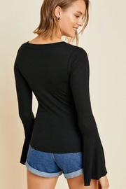 Hayden Los Angeles Bell Sleeve Longsleeve - Front full body