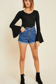 Hayden Los Angeles Bell Sleeve Longsleeve - Side cropped