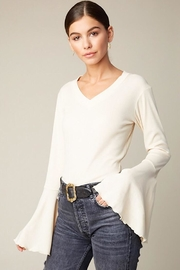 Hayden Los Angeles Bell Sleeve Top - Product Mini Image