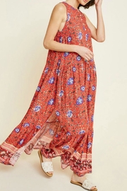 Hayden Los Angeles Bethenney Floral Maxi - Front full body