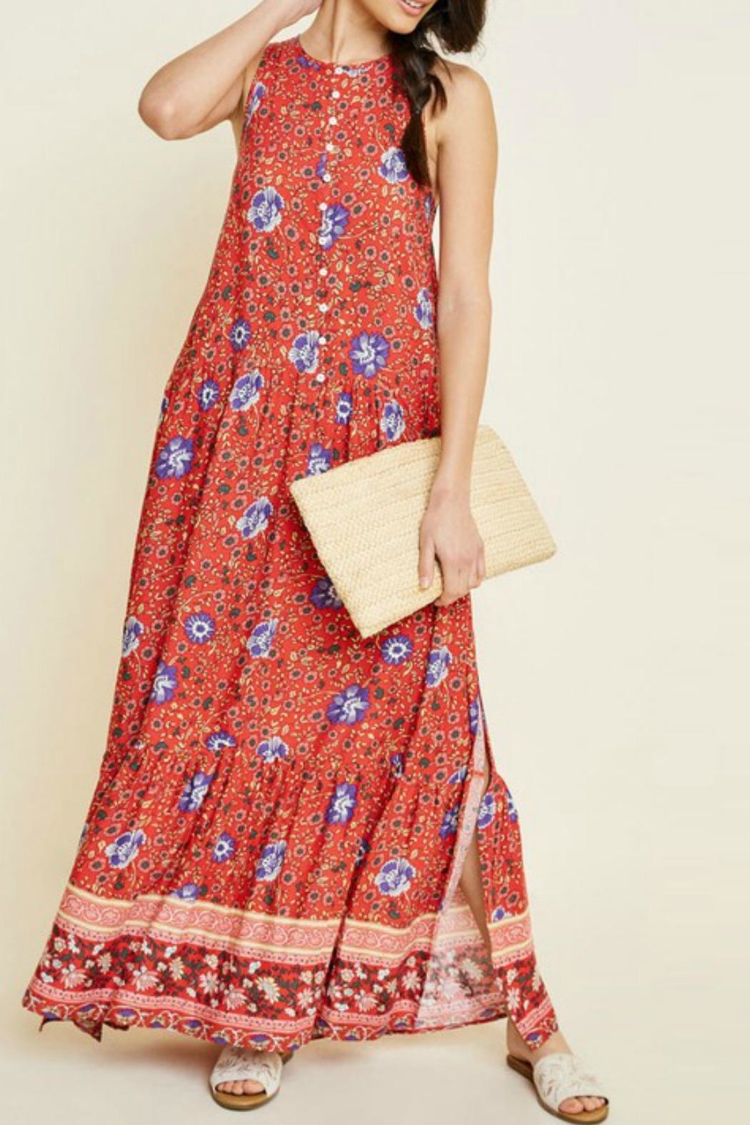 Hayden Los Angeles Bethenney Floral Maxi - Main Image