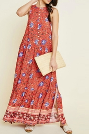 Hayden Los Angeles Bethenney Floral Maxi - Front cropped
