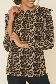 Hayden Los Angeles Beverly Leopard Ruffle - Product Mini Image