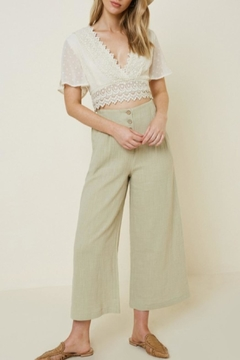 Hayden Los Angeles Button-Up Culottes - Product List Image