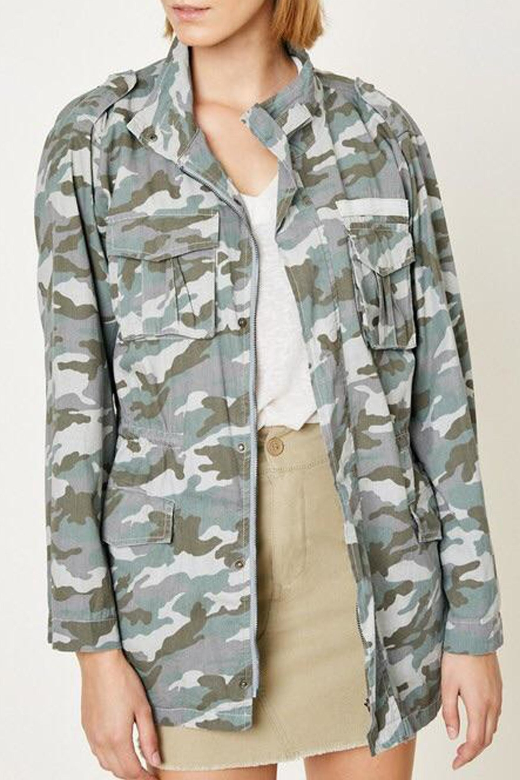 Hayden Los Angeles Cargo Camo Jacket - Main Image