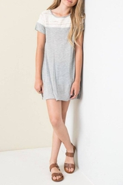 Hayden Los Angeles Casual Lace Tunic - Product Mini Image