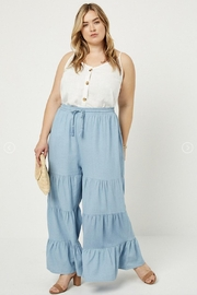 Hayden Los Angeles Chambray Wide Leg Pants - Other