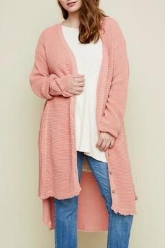 Shoptiques Product: Cotton Knit Cardigan