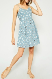 Hayden Los Angeles Daisy Tie-Back Dress - Product Mini Image