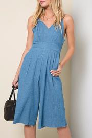 Hayden Los Angeles Denim Jumpsuit - Product Mini Image