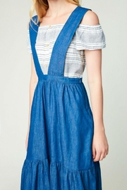 Hayden Los Angeles Denim Overall Dress - Side cropped