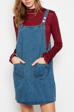 Shoptiques Product: Denim Overall Dress